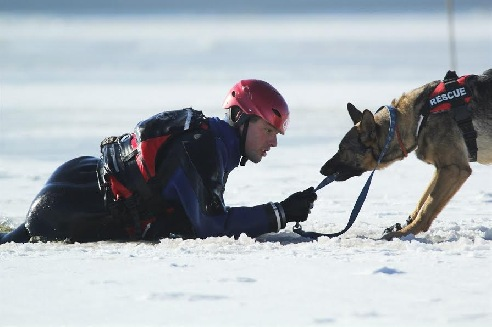 Zimní výcvik naplno