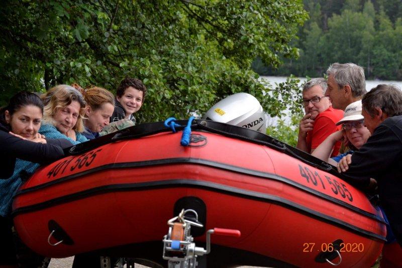 Výcvik na českém moři
